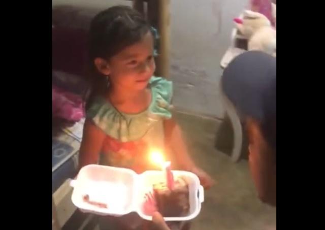 День рождения девочки из небогатой бразильской семьи