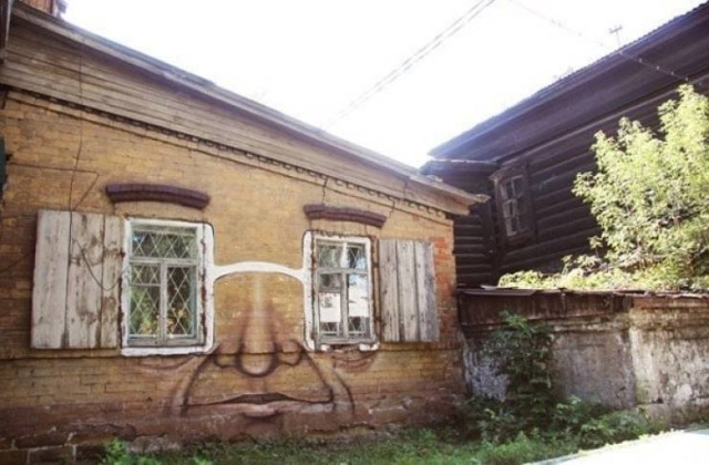 Стрит-арт от Никиты Nomerz (32 фото)