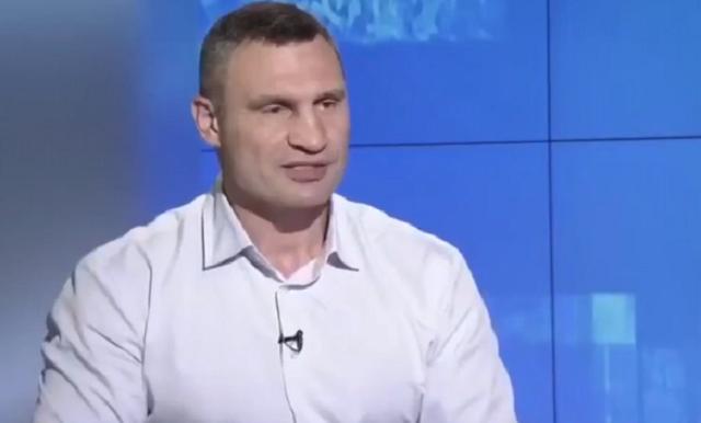 У Виталия Кличко не получилось выговорить название института