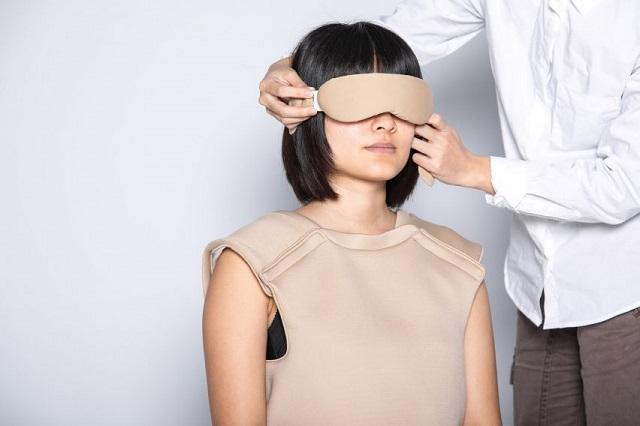 Тайваньские инновации - костюм для мастурбации, рассчитанный на людей с инвалидностью (2 фото + видео)