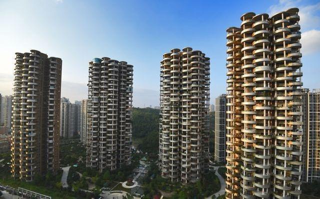 Жилой комплекс в Китае (5 фото)
