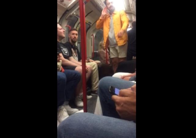 Деликатный способ избавиться от буйного пассажира в метро