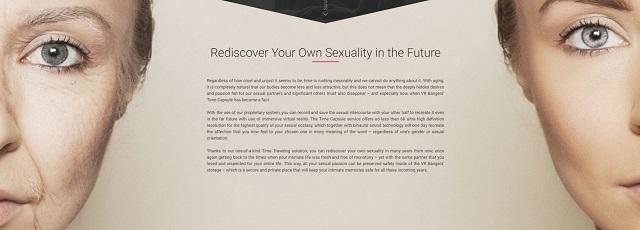 Time Capsule - виртуальное порно для людей преклонного возраста
