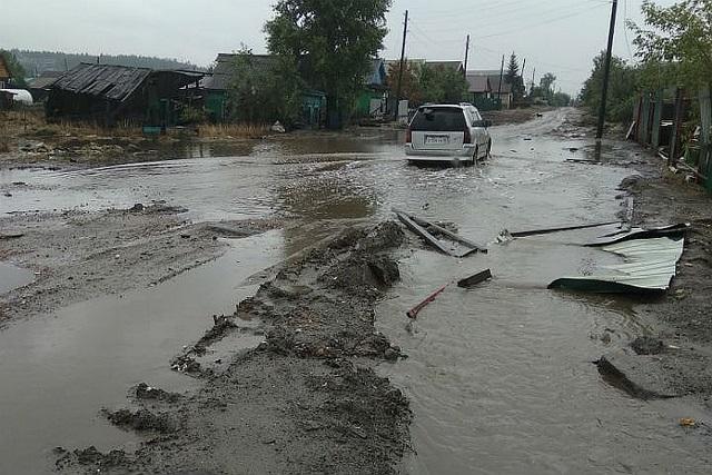 На Иркутскую область вновь обрушился паводок (6 фото + 2 видео)
