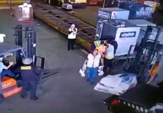 """Спланированное """"ограбление века"""" аэропорту Сан-Паулу"""