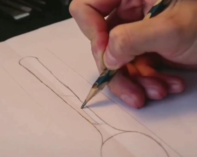 Процесс создания ложки из дерева