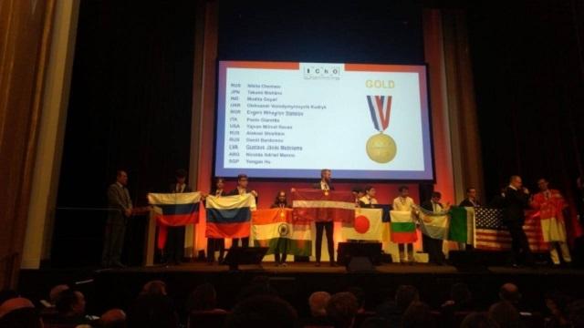 Школьники из России получили золотые медали на олимпиаде по химии в Париже (2 фото)