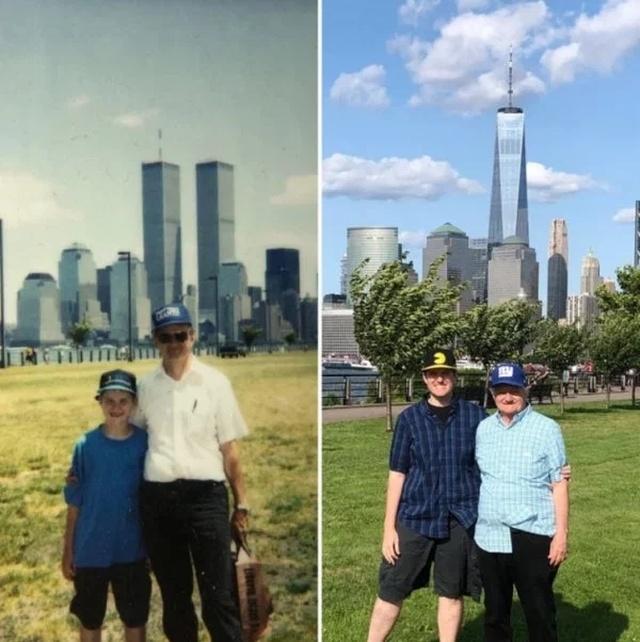 Воссоединяя старые и современные фотографии (23 фото)