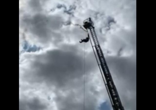 Торжественное открытие пожарного депо