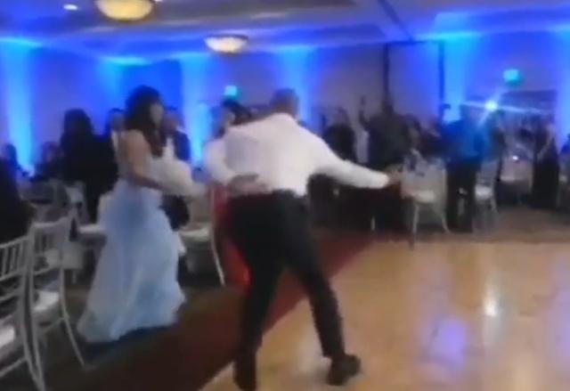 Кажется, на этой свадьбе что-то пошло не так