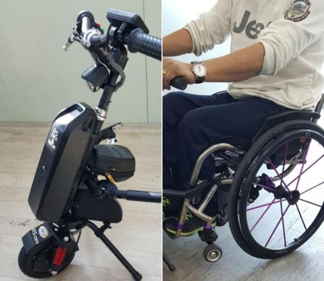 Изобретение для людей с ограниченными возможностями (8 фото + видео)