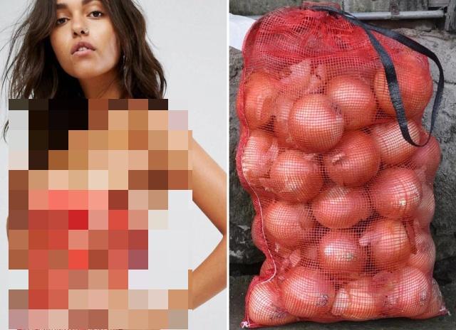 Платье за 27 тысяч рублей сравнили с сеткой для лука (5 фото)