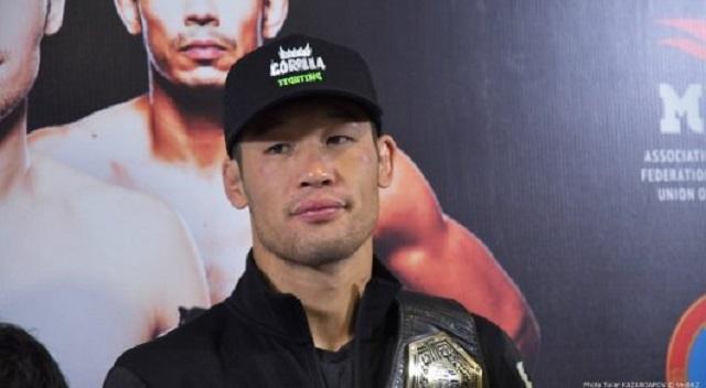 Шавкат Рахмонов - первый боец из Казахстана, подписавший контракт с UFC (2 фото + видео)