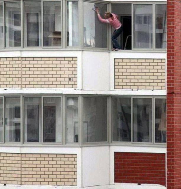 "Когда техника безопасности ""на высоте"" (43 фото)"