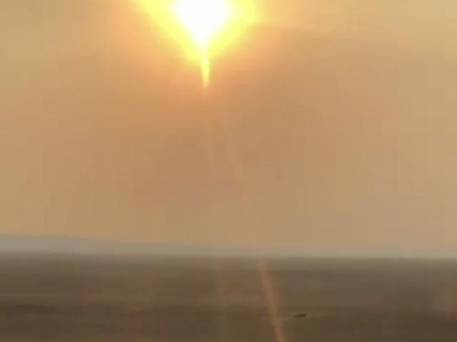Забайкальский край после пожара