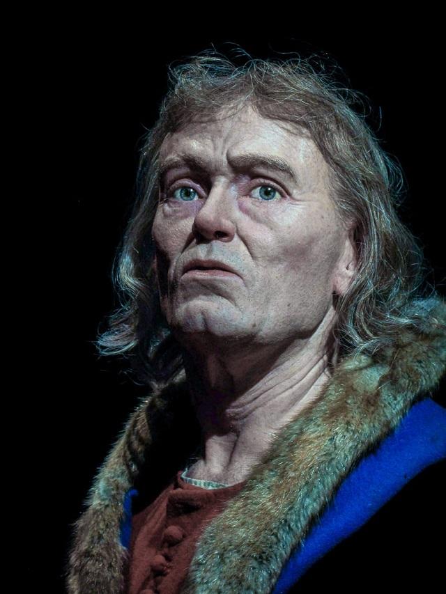 Археолог из Швеции воссоздает лица людей, которые жили тысячи лет назад (10 фото)