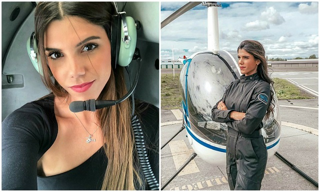 Луана Торрес покоряет не только небосвод, но и тысячи поклонников в Instagram (17 фото)