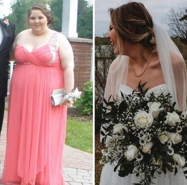 Похудение: до и после (19 фото)