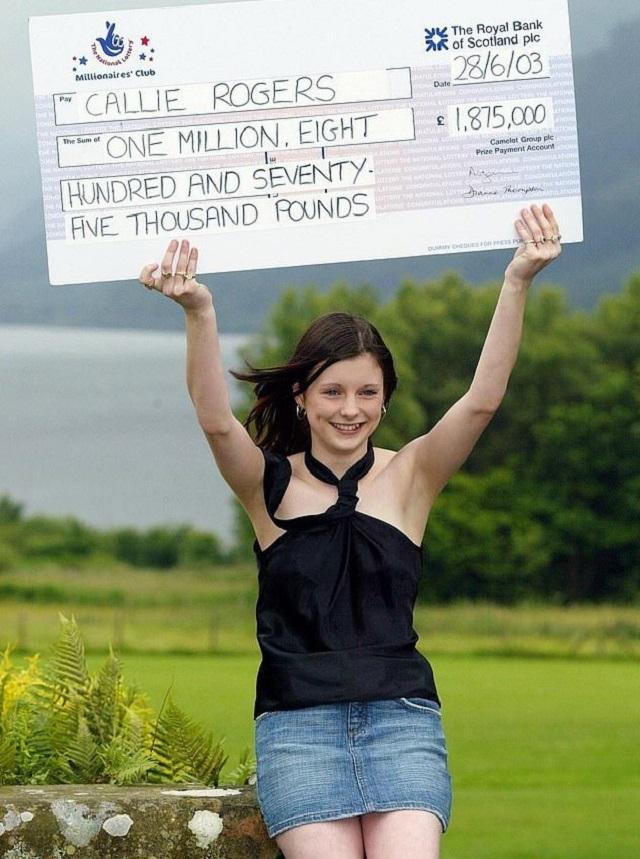 Как изменилась 16-летняя школьница, которая выиграла 1,8 млн фунтов в лотерее в 2003 году (5 фото)