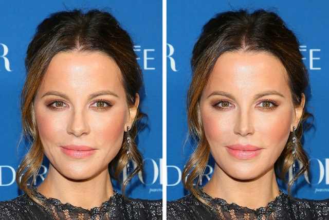 """Как бы выглядели голливудские актрисы, если бы решились на """"модные"""" пластические операции (18 фото)"""