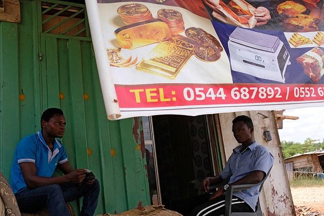 Нелегкая судьба золотодобытчиков из Ганы (13 фото)