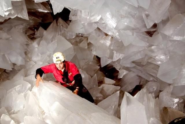 La Geoda Gigante - удивительная жеода в Испании (8 фото)