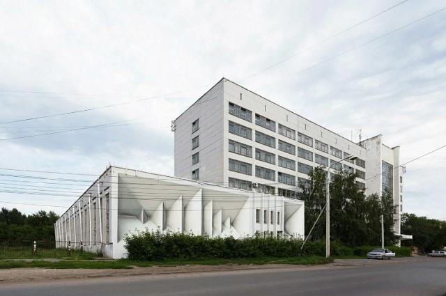"""""""Архитектурные иллюзии"""" Екатеринбурга (10 фото)"""