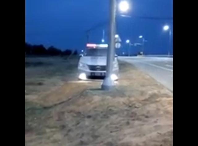 Муляжи полицейских автомобилей с проблесковыми маячками