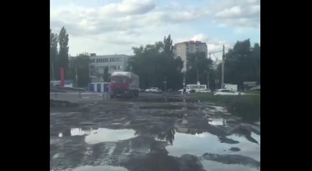 Местный водитель записал обращение к властям Воронежа