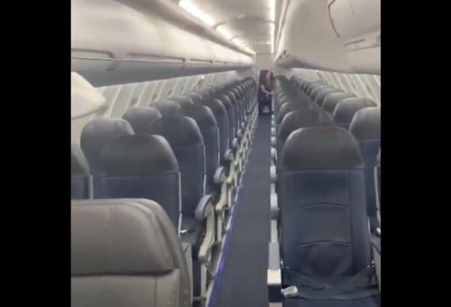 Когда ты - единственный пассажир авиалайнера