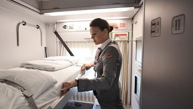В РЖД объяснили ситуацию с постельным бельем в поездах