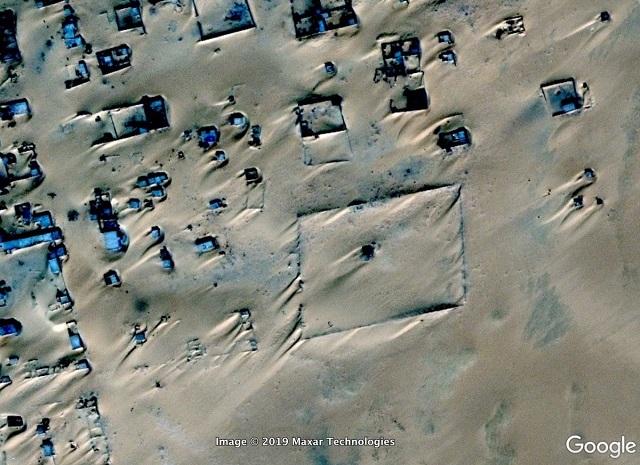 Необычные виды земли с Google Maps (22 фото)