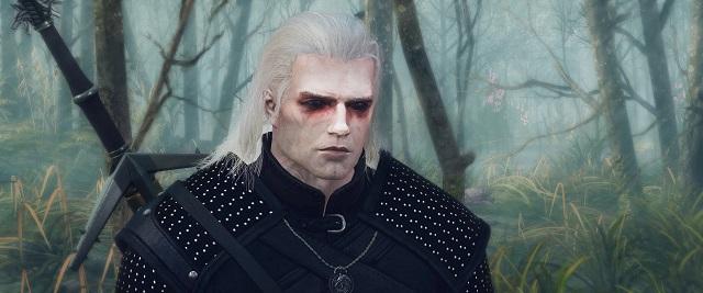 """В Сети появился мод для игры """"Ведьмак 3"""", который дает Геральту внешность Генри Кавилла (7 фото)"""