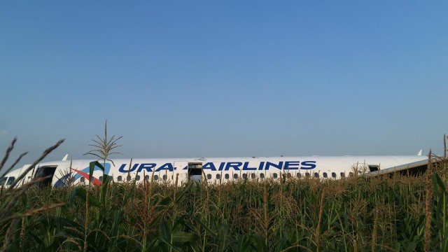 Пилотов, сумевших посадить самолет Airbus А321 на кукурузное поле, представят к государственным наградам