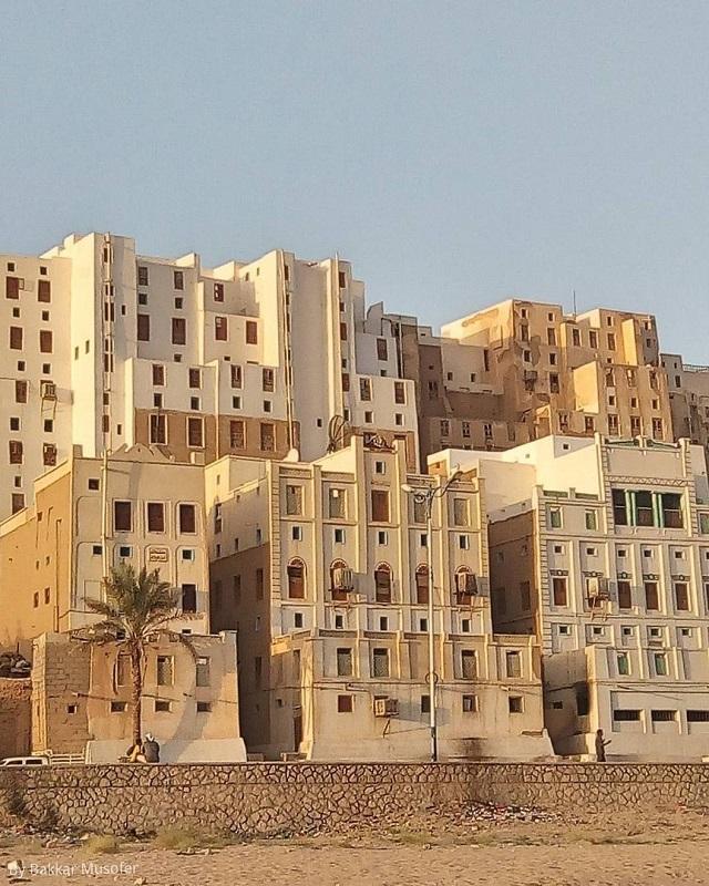 "Шибам - ""Манхэттен пустыни"" с небоскребами из глины (13 фото)"