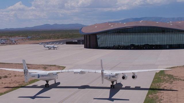 Virgin Galactic продемонстрировала интерьер космодрома для коммерческих полетов (9 фото + видео)