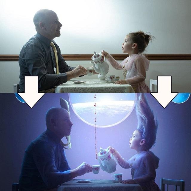 """Фотограф поэтапно показал, как Photoshop превращает обычный кадр в """"волшебный"""" (33 фото)"""