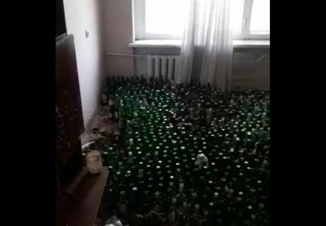 """Когда после """"гулянки"""" не захотел убирать в квартире"""