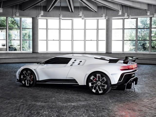 Bugatti представила гиперкар Centodieci за 597 миллионов рублей (16 фото)