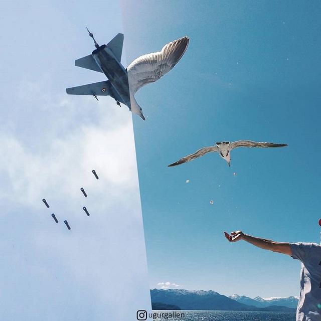 """A török fotós """"Béke otthon - világbéke"""" projektje (18 fénykép + videó)"""