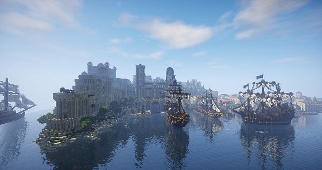 """Масштабный проект: фанаты """"Властелина колец"""" строят Средиземье в Minecraft (7 фото + видео)"""