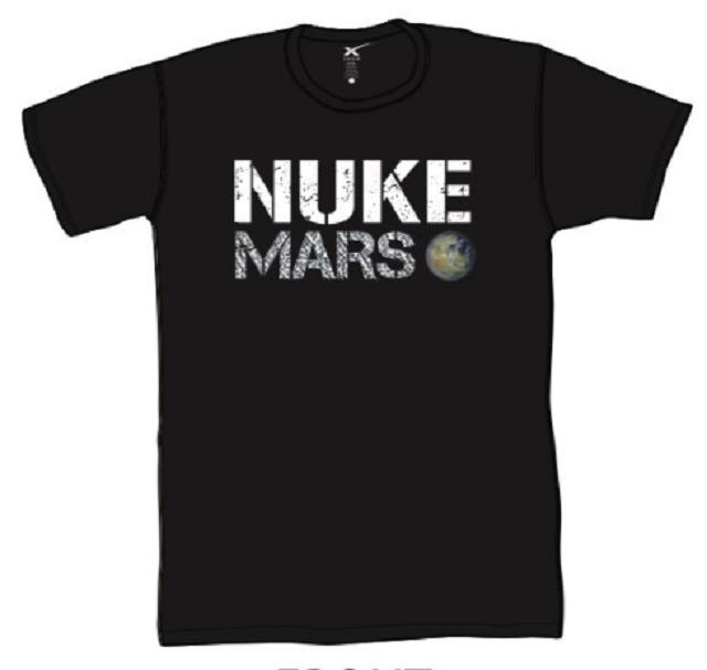 Теория большого взрыва: Илон Маск предложил сбросить ядерную бомбу на Марс (4 фото)
