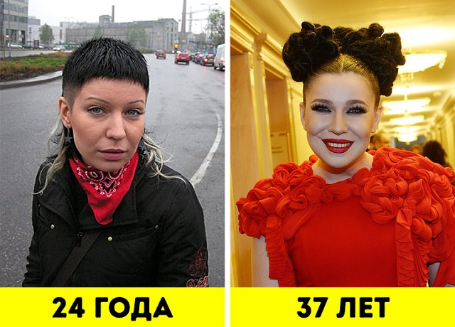 Российские знаменитости, которые с возрастом стали выглядеть лучше (18 фото)