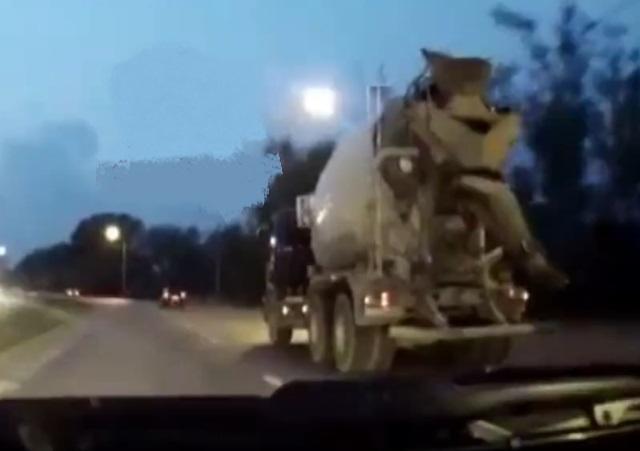Красноярский обочечник не ожидал такого поворота событий