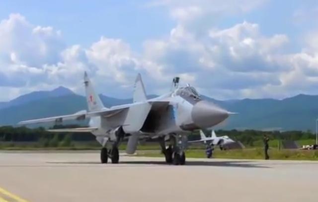МиГ-31БМ осуществил выход в ближний космос