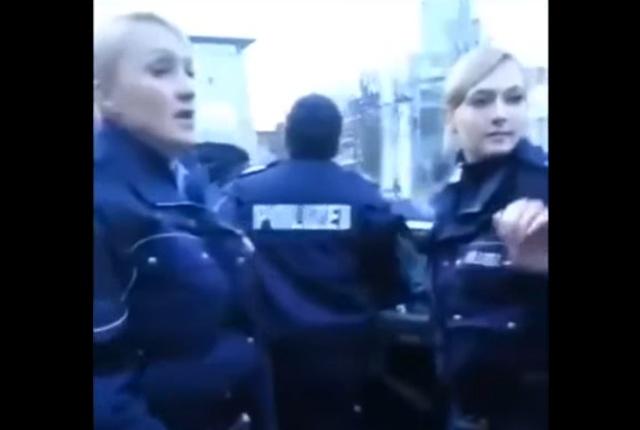 """""""Суровая"""" немецкая полиция"""