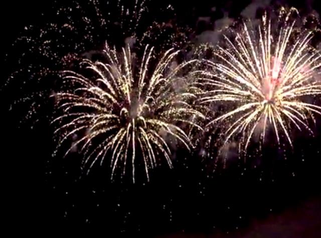 В Калининграде прошел мировой фестиваль фейерверков