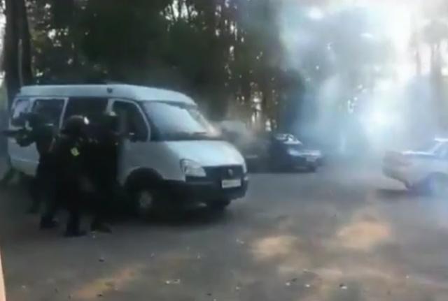 """Странное """"шоу"""" в исполнении Росгвардии в Тульской области"""