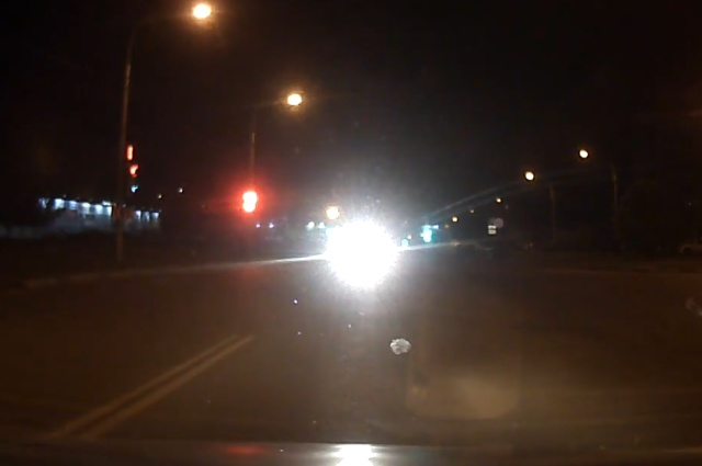 НЛО на дороге?