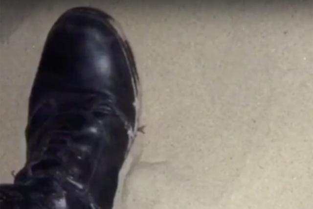 Видео предполагаемого контакта полицейских и несовершеннолетней волейболистки в Анапе